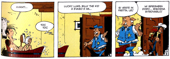 lucky luke billy the kid