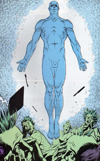 Jon Osterman, alias Dr Manhattan